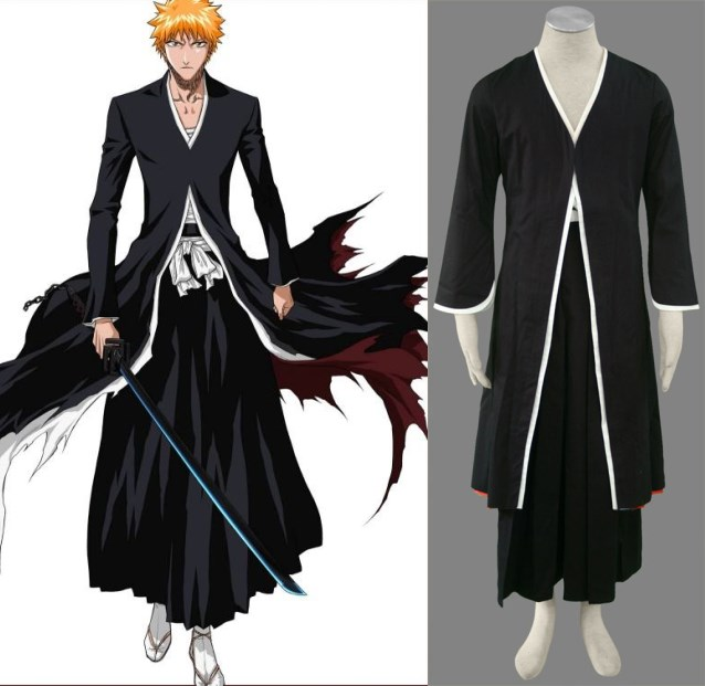 Bleach Cosplay Kurosaki ichigo installed 1 generation cosplay halloween Costumes