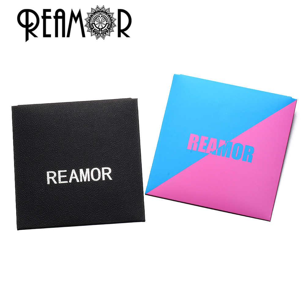 REAMOR ขัด 316l สแตนเลส Basic ลูกปัด 2 มิลลิเมตรขนาดเล็ก Hole Spacer ลูกปัด Charms สำหรับสร้อยข้อมือเครื่องประดับขายส่ง