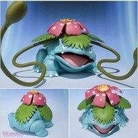 NEW 1pcs 10CM Pvc Japanese Anime Figure Pocket Monster Venusaur Action Figure Collectible Model Toys Brinquedos