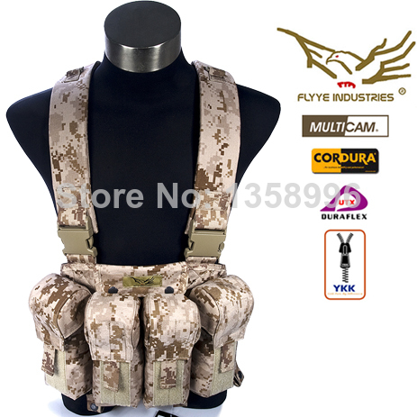 Flyye LBT AK Tactical Chest Vest FY-VT-C006 1000D Waterproof Nylon Adjustable Molle Combat Vest Army Military Vests in stock flyye genuine molle force recon vest military tactical vest vt m013
