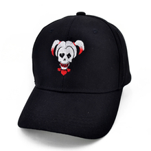 Suicide Squad Harley Quinn Joker Embroidery Baseball cap fashion Men and women Hip-hop hats
