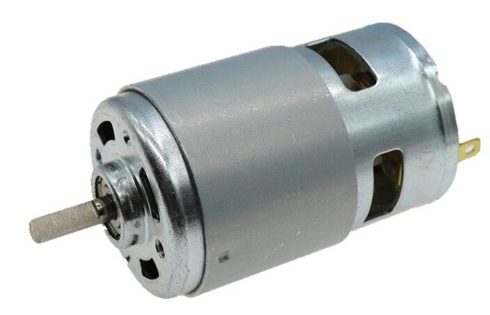 795 DC MOTOR DC 12V-24V High power 3X shaft BALL Bearing (775 upgrade DC motor) 12v/24v 12000rpm