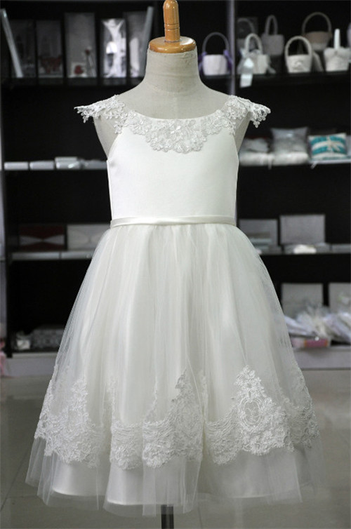 A-Line  Flower Girls Dresses For Wedding Gowns White Prom Dresses Lace Flower Girl Dresses be first bcaa be first 2 1 1 powder 250гр