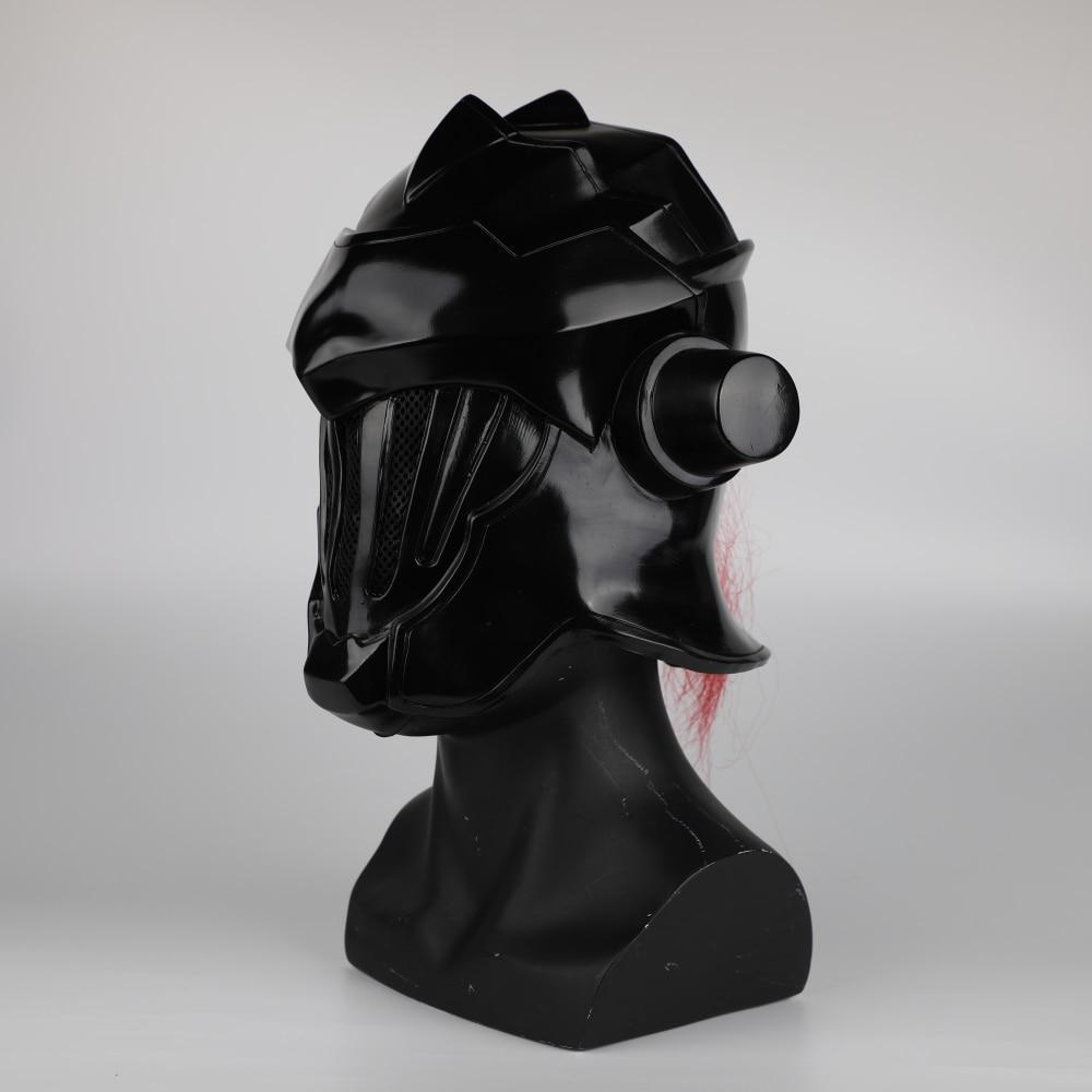 2018 Anime Goblin Slayer Mask Cosplay Halloween Goblin Slayer Helmet Mask Props (7)