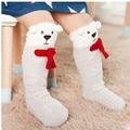 Winter Cute Animals baby socks Knee High Cotton Coral Fleece Warm Thick Christmas Sock anti slip Cartoon Leg Warmers for toddler