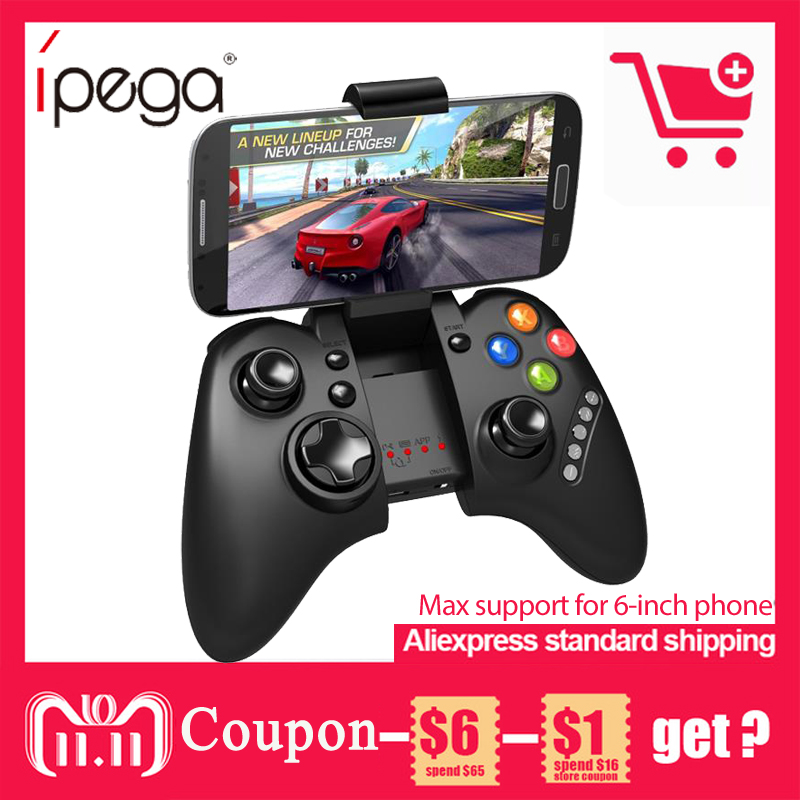 IPEGA PG-9021 PG 9021 Wireless Gamepad Bluetooth Game Controller Joystick Game Pad for Android/ iOS Tablet PC Smartphone TV Box цены онлайн