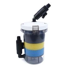 Предварительный фильтр прозрачный W/фильтр ватные губки+ 2x16 мм суставов без насоса LW-602 LW-603 набор очистки свежий и аквариум с соленой водой аквариум