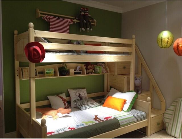 M2 contador muebles para niños cama de pino literas cama función ...