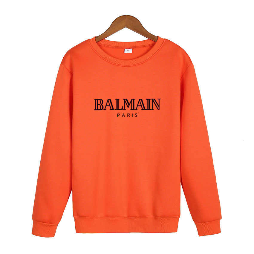 balmain shirt 2019 fashion men's and women's hoodies casual pullovers sport hoodies for  men and women BALMAIN S
