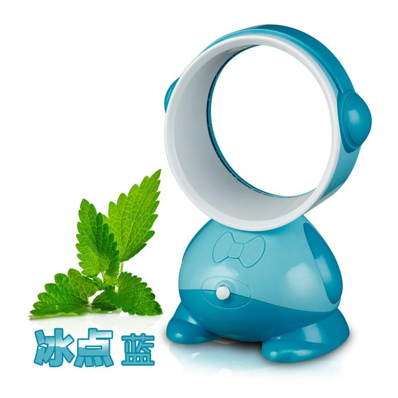 Air Cooler USB Leafless Fan Student Dormitory Desktop Mini Fan New Exotic Creative Gift Fan Mute