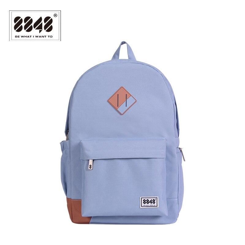 Backpack With Shoe Pocket 8848 Brand Solid Preppy Style Men 500 D Waterproof Oxford Resistant School Shoulder Bag 229-020-001 Terrific Value Luggage & Bags