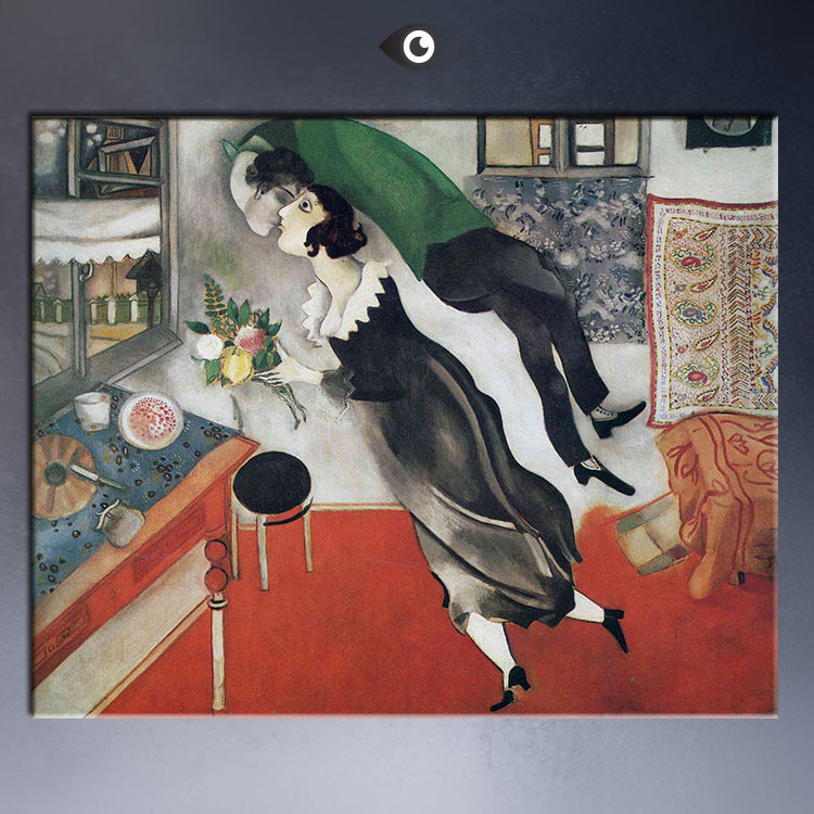Resultado de imagem para pinturas de marc chagall