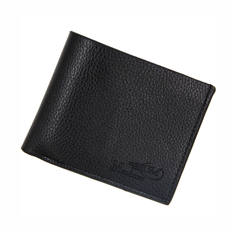 Fashion PU Leather Wallet Men Vintage Short Men's Purse Casual Solid Men Wallets Coin Purse For Men Thin Card Holder Male Wallet contact s genuine leather men wallet thin design short wallet casual purse with card holder coin purses and photo holder wallets