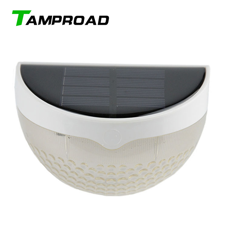 Tamproad Outdoor Solar Powered Security Wall Lamp Wireless