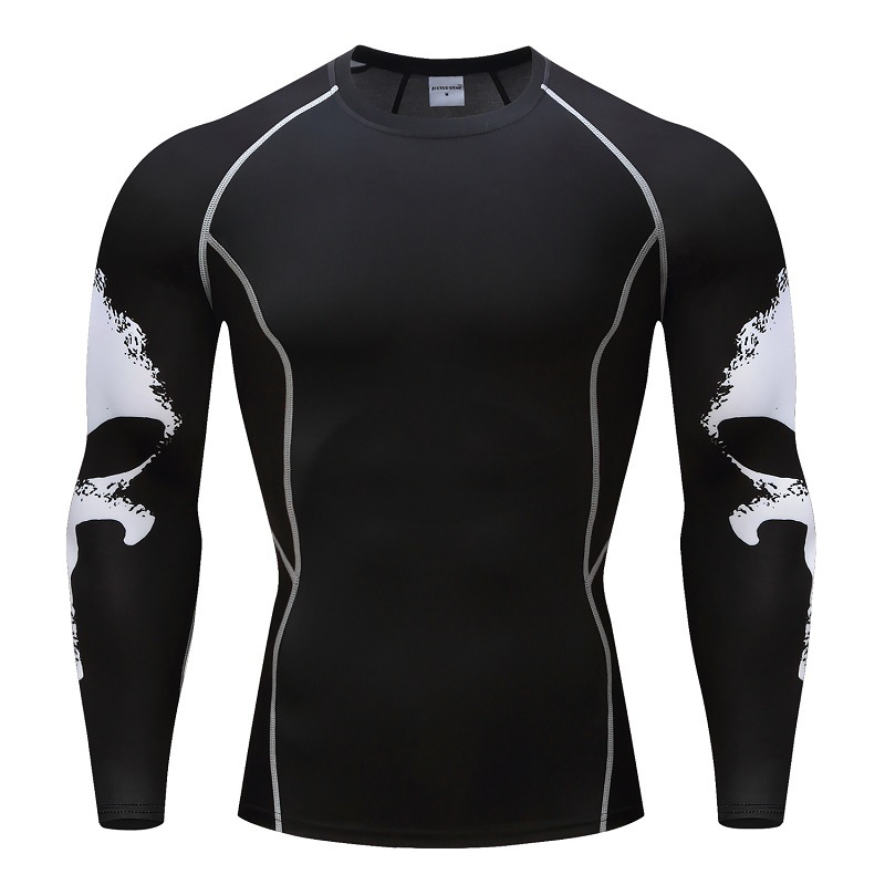 Long sleeve skin rash guard complete graphic compression for Long sleeve rash shirt