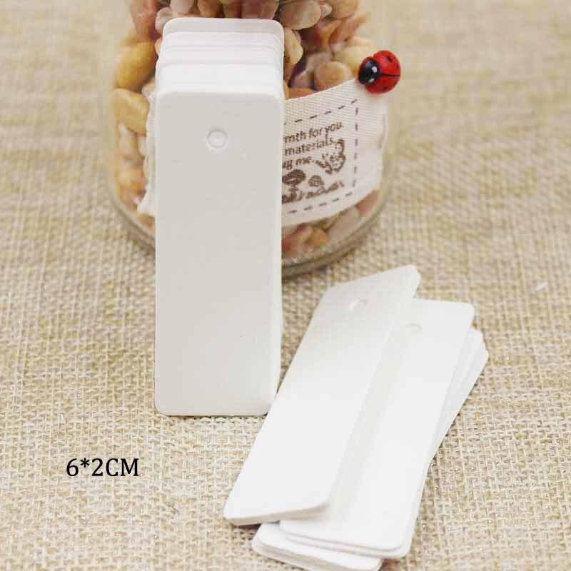 6*2 см белый пустой Свадебные Примечание тег продукты цена метка 100 шт. в партии таможенной стоимости дополнительные