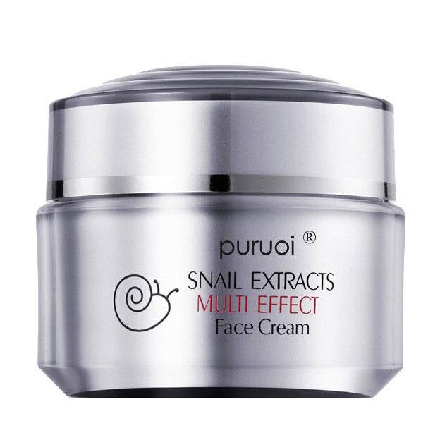 Отбеливание против старения удалить акне Puruoi экстракт улитки нескольких эффект крем для лица против морщин кремы красоты по уходу за кожей макияж
