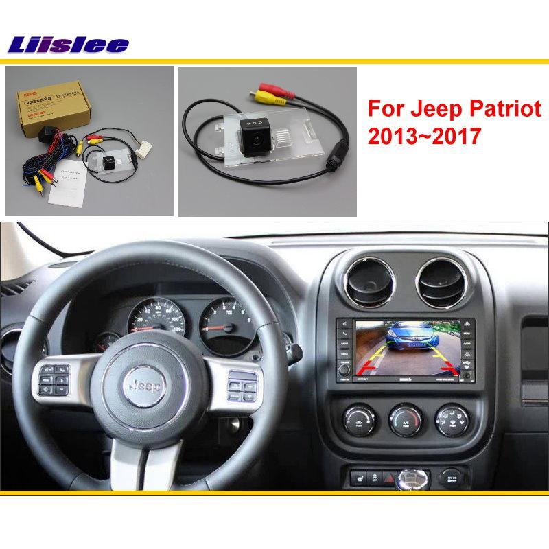 Liislee For Jeep Patriot 2013 2017 Car Rear View Back Up Reverse Camera Sets RCA Original