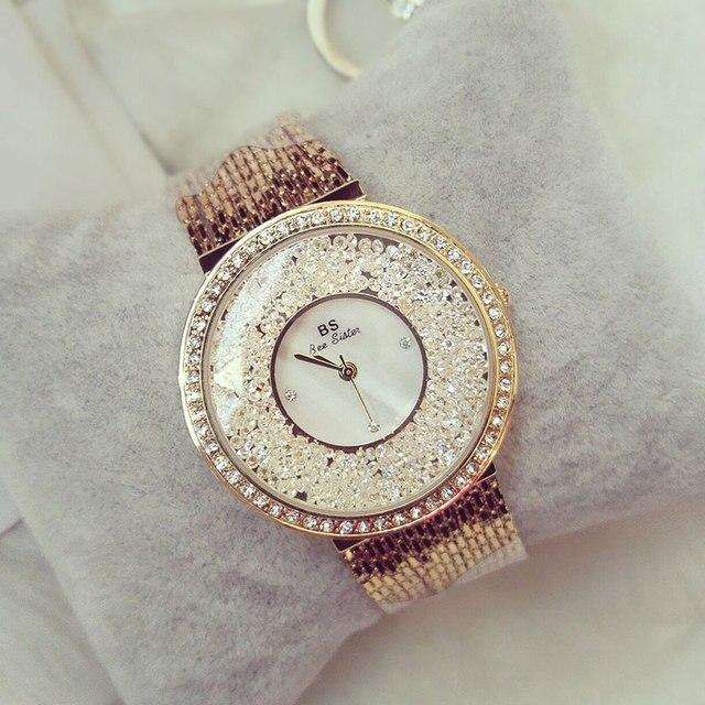 a8781850d322 Reloj de pulsera de lujo para mujer