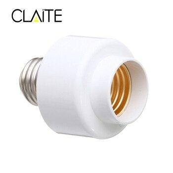 CLAITE E27 Смарт Wi-Fi лампа гнездо адаптера держатель лампы работать с Alexa Google дома IFTTT AC85-265V
