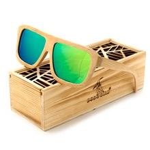BOBO VOGEL BS052 MensPilot Klassische Holz Sonnenbrille Frauen Polarisierte UV400 Schützen Beschichtung Spiegel Holz Sonnenbrille in Box