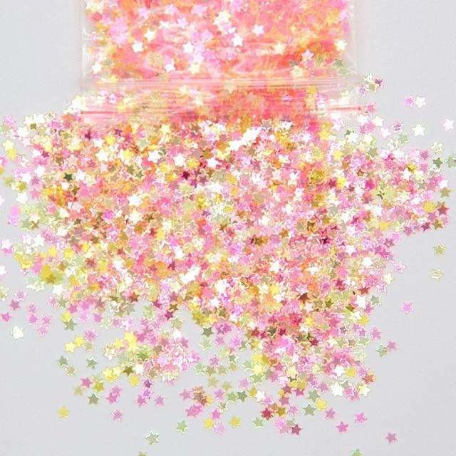 Glücklich Affe 10g 3mm Glitter Schleim Zusatzstoffe Liefert Pailletten Scheiben Toppings Streusel Füllstoff Für Flauschigen Wolke Klar Schleim ton