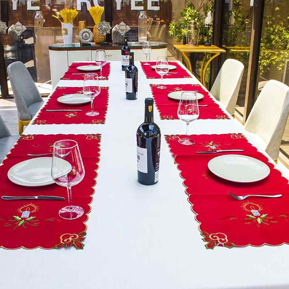 d8ade77060a4 2018 New Food Mat Table Mat Innovative Western Food Mat Tablecloths Party  Dinner Decor For Christmas