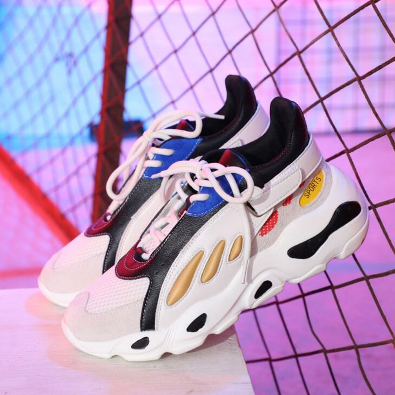 Women 39 s sports shoes 19 spring and summer new Korean version of Harajuku wild casual shoes Shu fashion hot selling women 39 s shoes in Women 39 s Pumps from Shoes