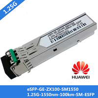 1pcs For Huawei eSFP GE ZX100 SM1550 SFP Switch Module Singlemode 1.25G 1550nm 100km SM ESFP LC Connector DDM