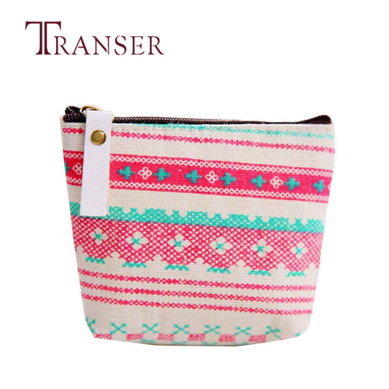TRANSER Canvas Fashion Zipper Pencil Case Cute Portable Key Coin Purse Makeup Bag Description Girls Wallet High Quality Aug21 new graffiti coin purse zipper pencil case cute portable key card holders purses makeup bag gift girls