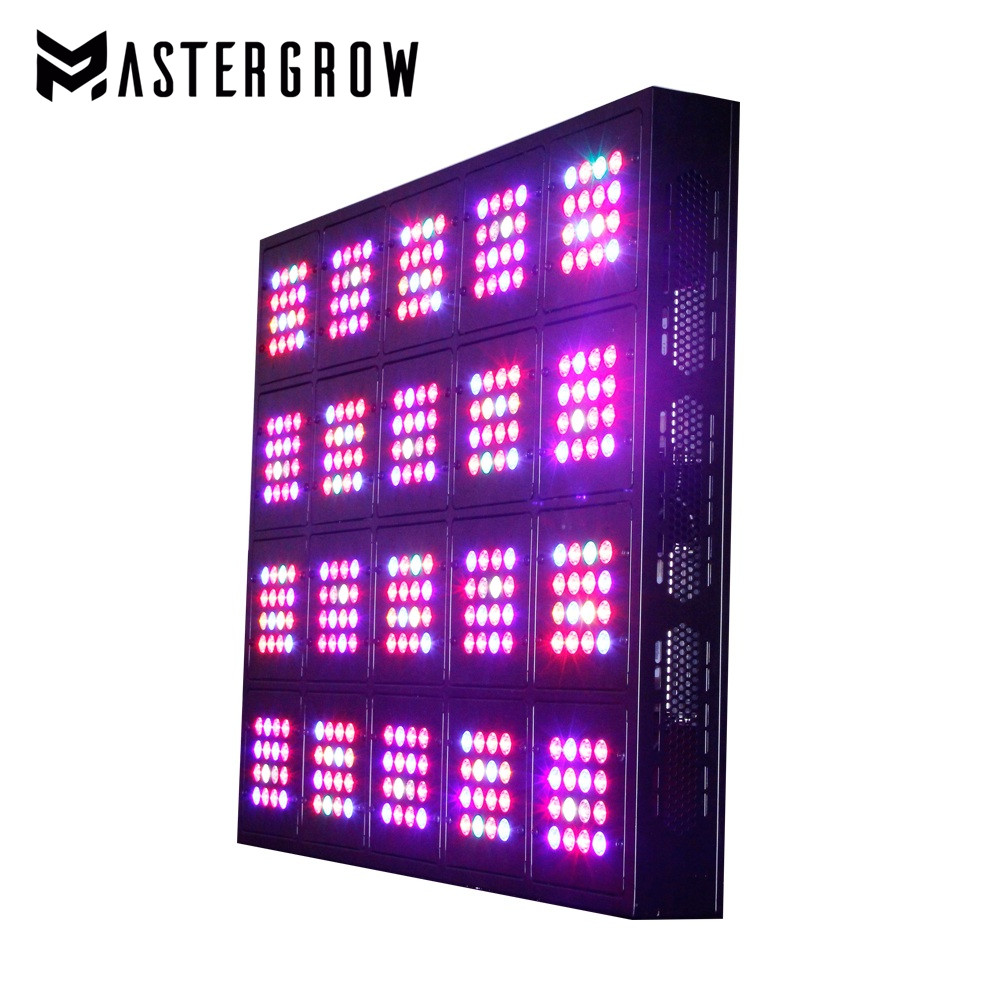 Apollo Ultimate 1600W 20-module Dimmable Remote Control Full Spectrum LED Grow Light For Medical Plant Vegetative And Flower