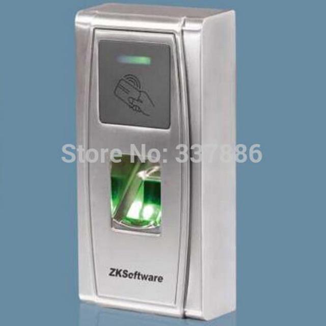 Anti-dupla entrada de impressão digital comparecimento do tempo e controlador de acesso MA300
