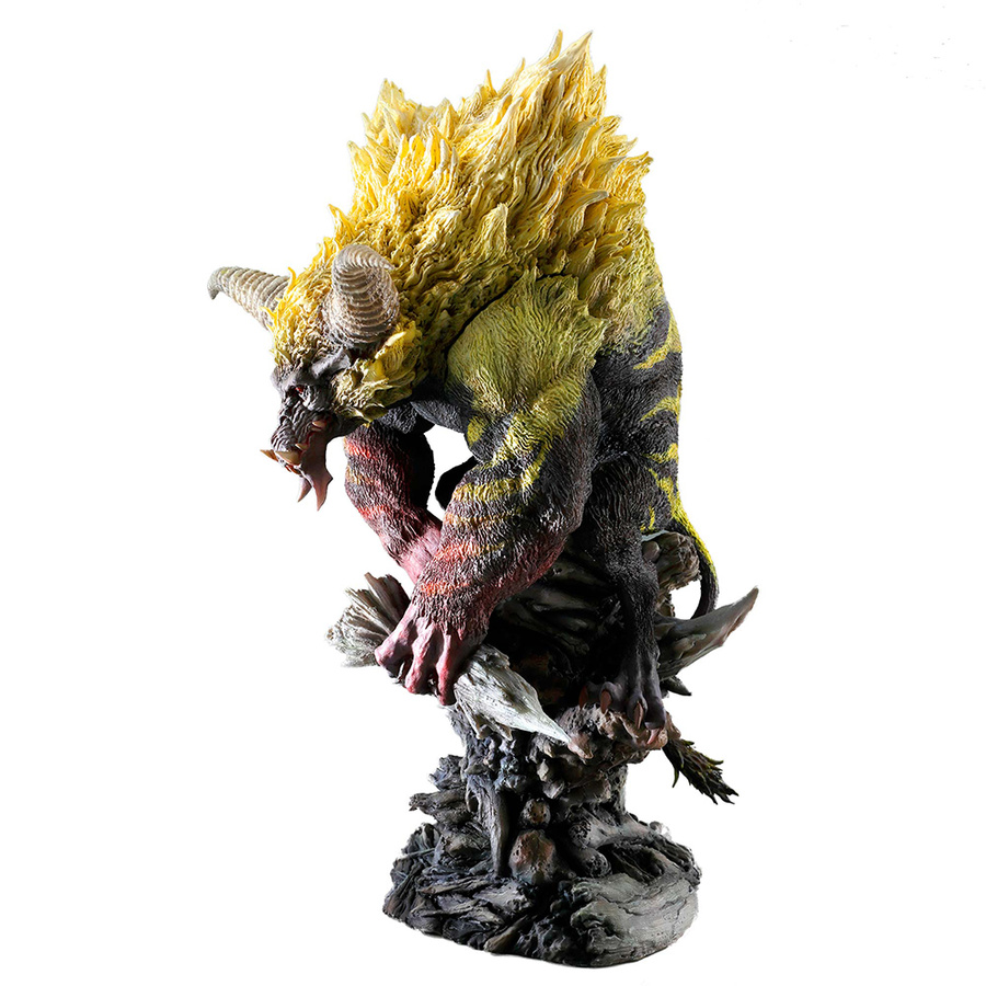 Monster Hunter World Monsters Figure Action Model Toys Rajahn Dragon Collections