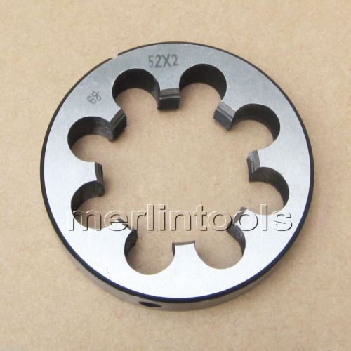 52mm x 2 Metric Right hand Thread Die M52 x 2.0mm Pitch цена