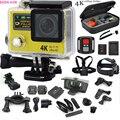 macchina fotografica di sport H3R Ultra 4 K HD  doppio Schermo Action Camera Impermeabile 30 m 170D Obiettivo go-pro Stile cam
