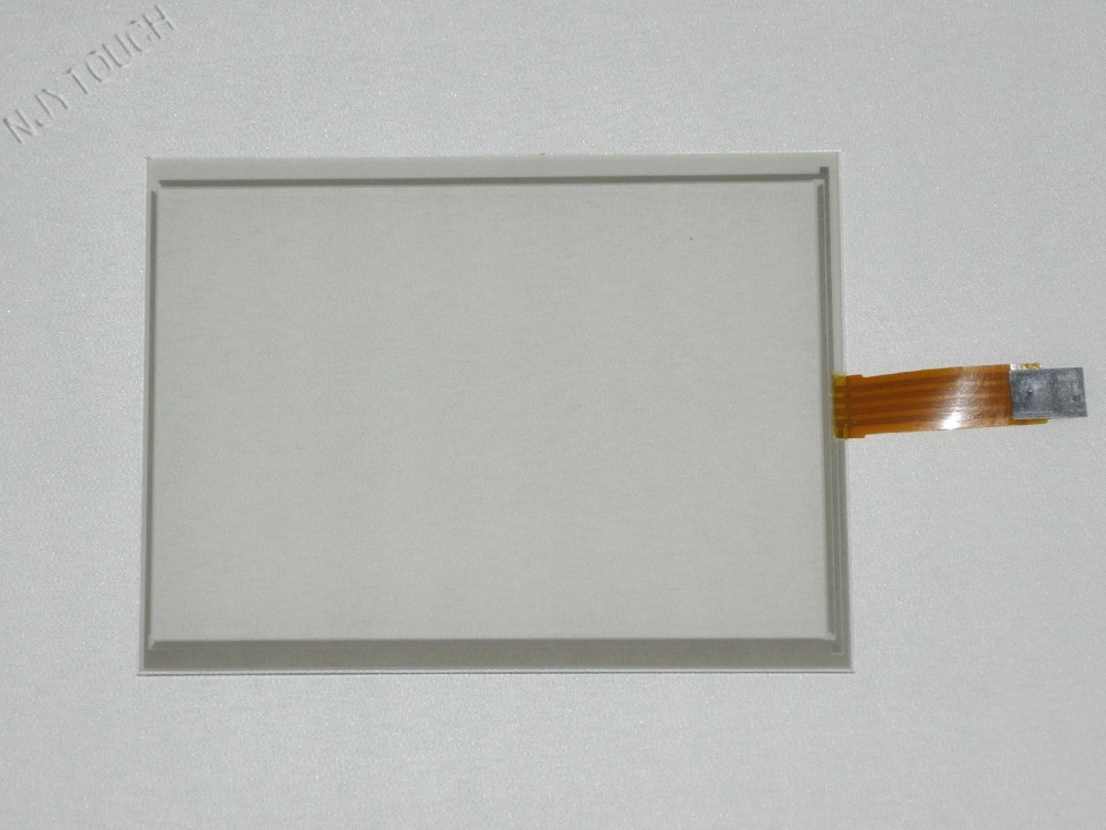 New 6.5 Inch 4 Wire Resistive Touch Screen Panel AUO <font><b>640x480</b></font> <font><b>LCD</b></font> G065VN01 143x117mm Screen touch panel Glass Free shipping image