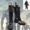 Capitán América Winter Soldier Cosplay Botas zapatos hechos a medida