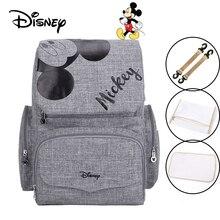 Disney bolsa para fraldas, bolsa para fraldas do mickey e minnie para bebês