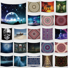 Unicorn anime tapestry wolf  star sky hd wall hanging tapestry home decoration large rectangle bedroom wall tapestry sky ballons print tapestry wall hanging decoration