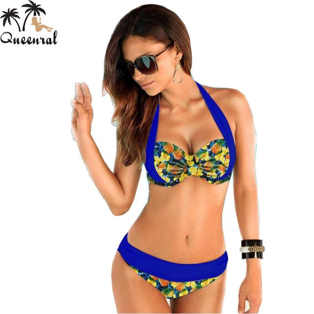 Women Bikini Bathing Swimsuit High Waist