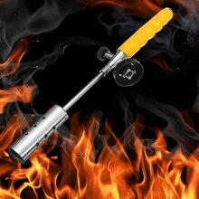 СОРНЯКИ убийца травы кустарник сад Kill горелка комплект Ручка бутан газовый фонарь с 2 x удлинитель из нержавеющей стали спрей