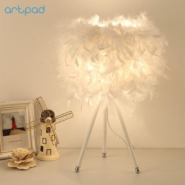 Artpad Post Modern Art Bedroom Decorative Lights E27 LED White ...
