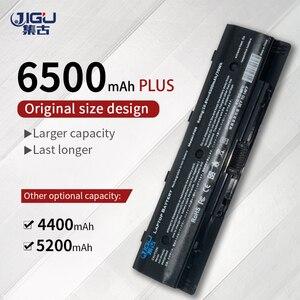 Image 1 - JIGUสีดำ 6 เซลล์HSTNN UB4N 710416 001 แบตเตอรี่แล็ปท็อปใหม่สำหรับHP Pavilion14 Pavilion 15 แบตเตอรี่PI06 PI09