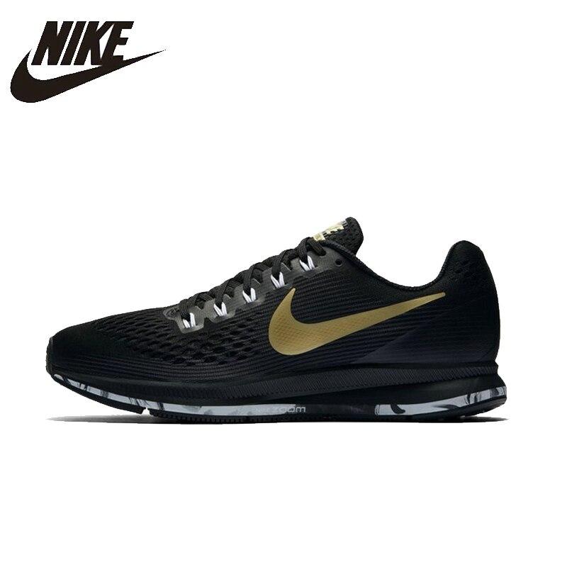 NIKE AIR ZOOM PEGASUS 34 Для мужчин s кроссовки сетка дышащий стабильность Поддержка спортивные кроссовки для Мужская обувь #880555