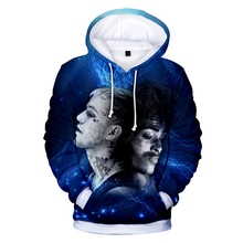 XXXTentacion fashion new mens hoodie 3D printing sports casual personality trend