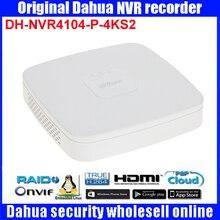 Original egnlish version Dahua DH-NVR4104-P-4KS2 IP Network Video Recorders with up 4ch Full HD support NVR4104-P-4KS2