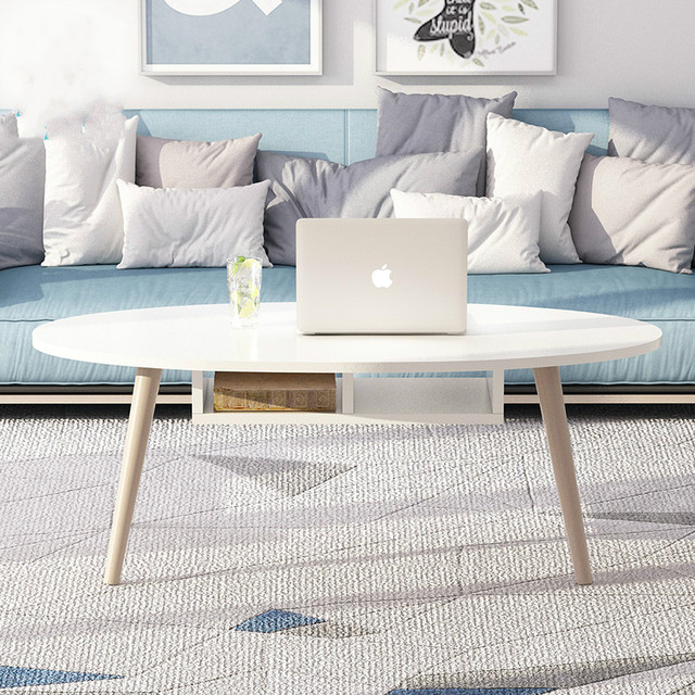 Short Tables Living Room Japanese Inspired Solid Wood Nordic Coffee Table Small Apartment Creative Easy To Install