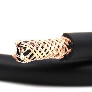 Image 4 - Hifi Audio Verzilverd Ofc Voedingskabel Voor Diy Eu/Uk/Us Power Kabel