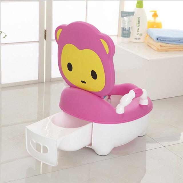 Crianças Potty Wc Portátil Assento Do Bebê Crianças Meninos Meninas Bonito Estilo Gaveta Grande Engrossar Kawaii Potties