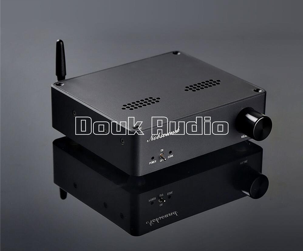 2016 Lastest Douk Audio DC Boost Bluetooth 4.0 Digital Amplifier Hi-Fi Audio Class D Power Amp 150WX2